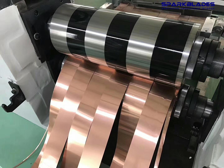 copper strips slitting blades